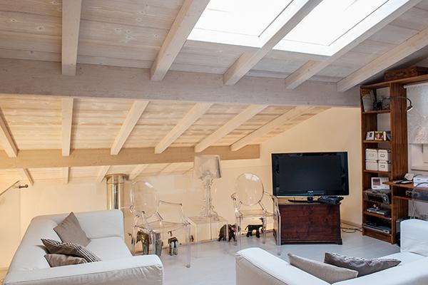 La pergola - Case in legno Lucca