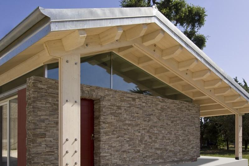 Case in legno da 100 150 mq a lucca e toscana la pergola for Casa in legno 100 mq