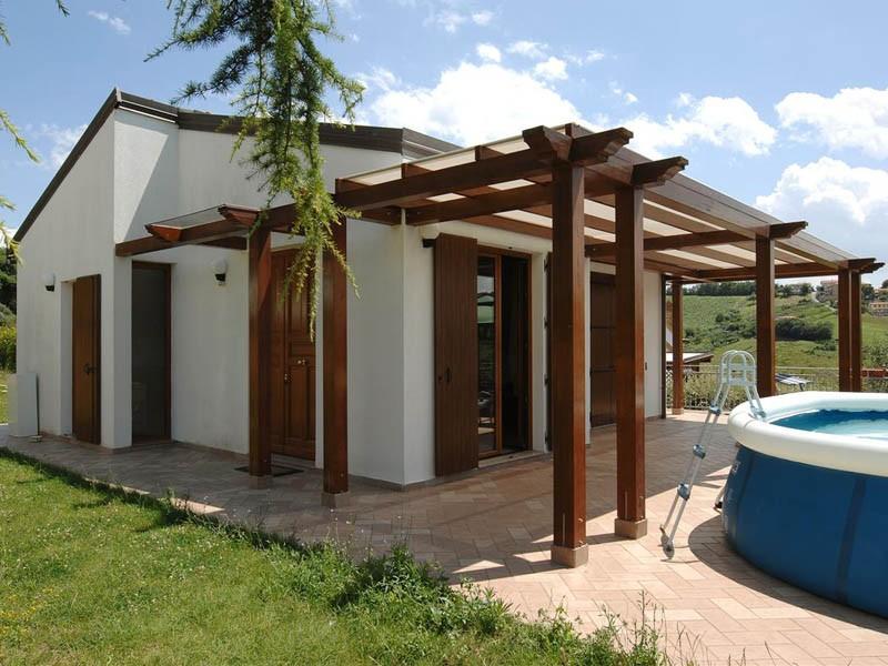 Case in legno fino a 100 mq a lucca e toscana la pergola for Durata casa in legno