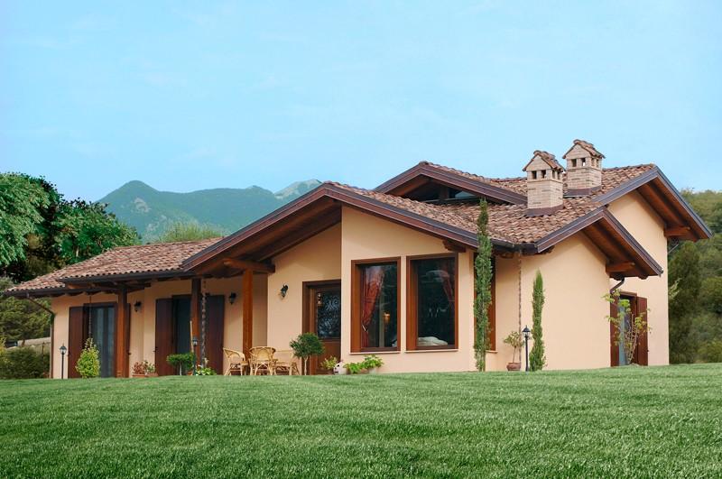 Case in legno oltre 200 mq a lucca e toscana la pergola for Disegni di case in vendita