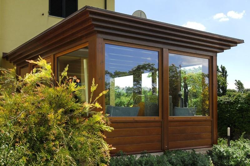 spesso Verande in legno a Lucca e Toscana - La Pergola S.r.l. MD91
